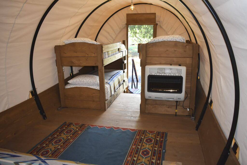 Luxury Accommodation Wagons
