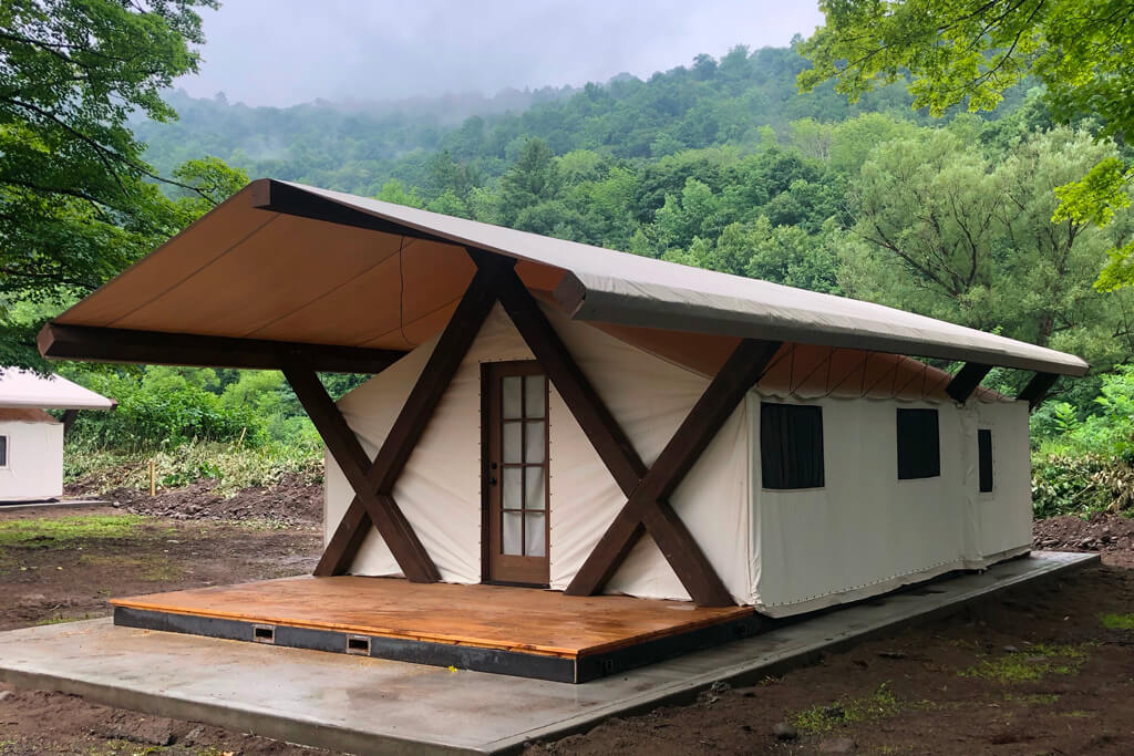 Conestoga Wagon Company Glamping Tents